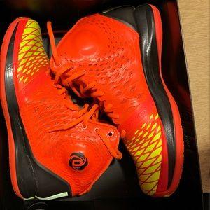 Derrick Rose 4.0 Blaze Orange Yellow Black